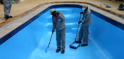 Blue yacht - Waterproof paint for swimming pools ...